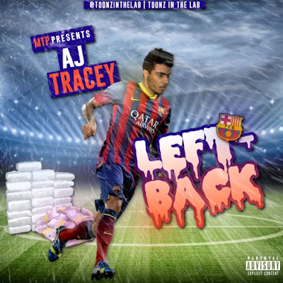 AJ Tracey & Toonz - Left Back Mixtape Cover