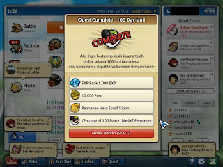 LostSagaShot 130713 072005 Cheat LS Lost Saga Skill No Delay Hit 13 Agustus 2013