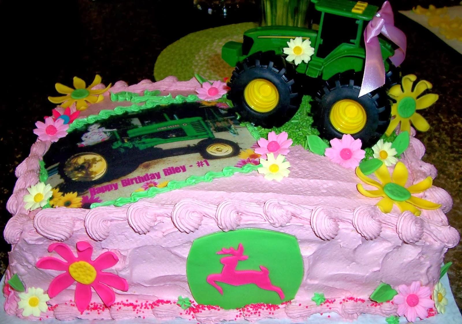 Craft Jazz John Deere Birthday Cake Girly Girl