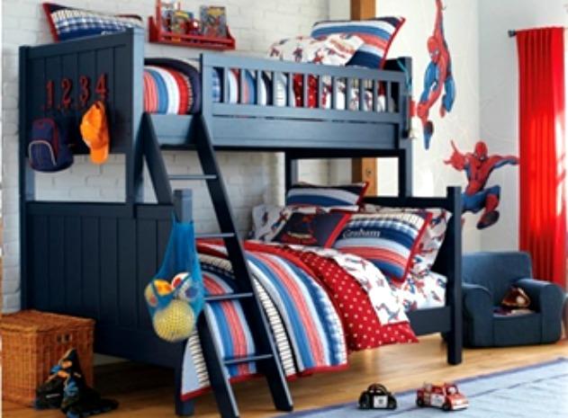 50 Ideias de quartos de meninos gêmeos