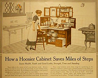 ... The Hoosier Manufacturing Company Came Up With The Clever Idea Of  Taking A Standard Cupboard And Turning It Into An Efficient And Compact  Baking Center.