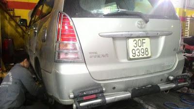 Bảo Dưỡng Ô Tô Toyota Innova