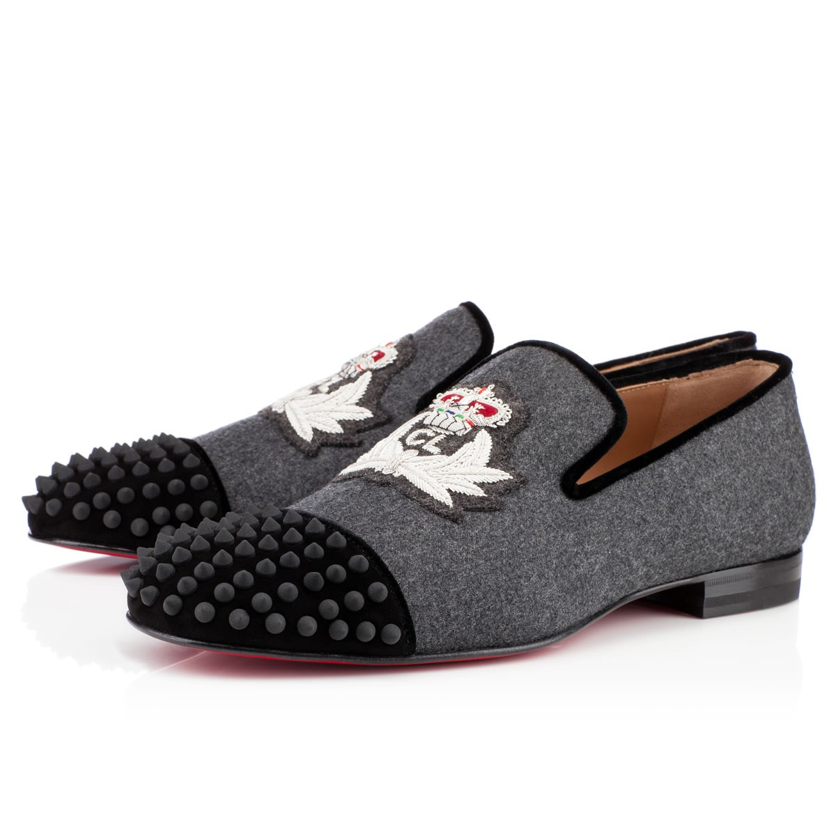 00O00 Menswear Blog: Christian Louboutin Harvanana loafers 2013