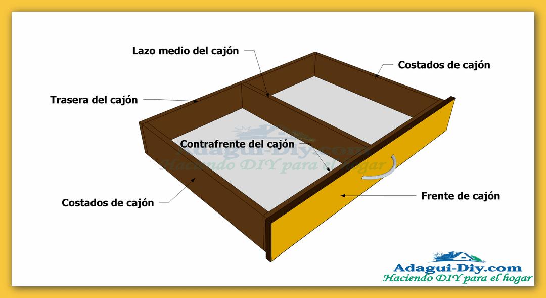 Plano Como Hacer Cajones Para Closet Empotrado Adagui