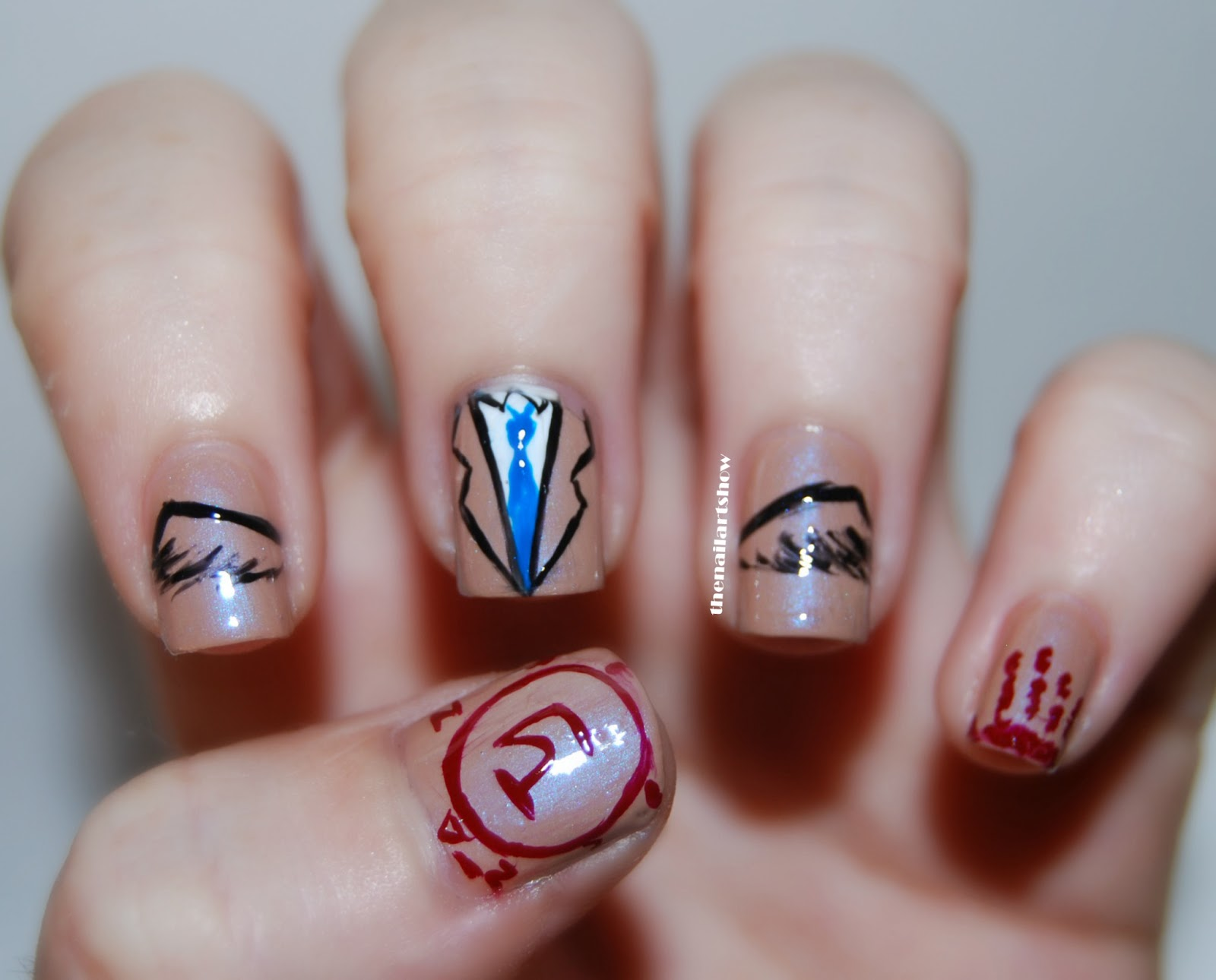 Im Castiel An Angel Of The Lord The Nail Art Show