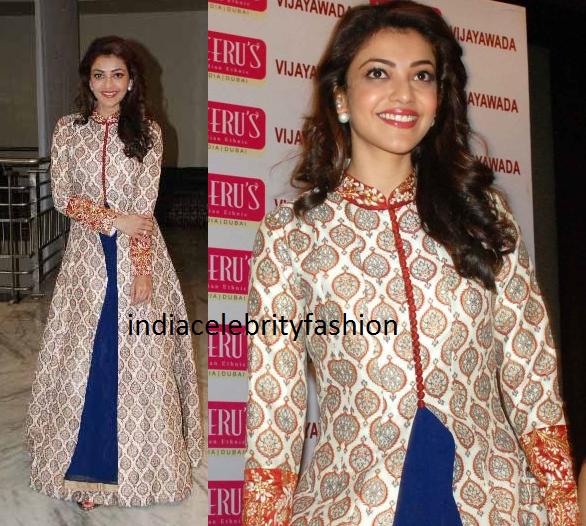 Kajal agarwal in Neeru's Salwar Suit at Neeru's store launch