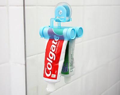 Exprimidor pasta de dientes