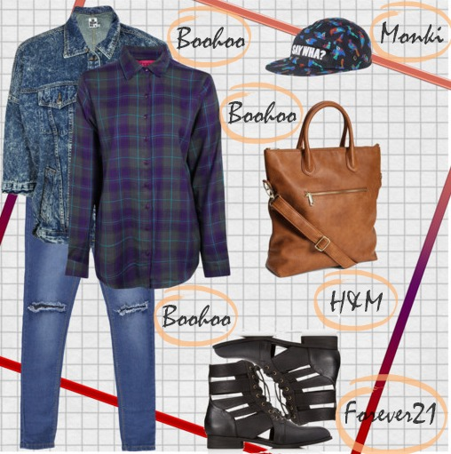 Back to school outfit ideas essentials basic outfit ideas H&M Boohoo Monki Forever21
