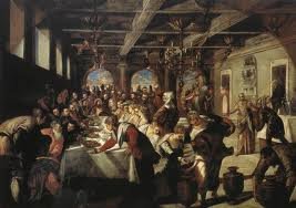 Italian Renaissance Wedding Feasts Were Some Of The Most Elaborate Ever Celebrated Especially Those Rich And Ful Painting Feast
