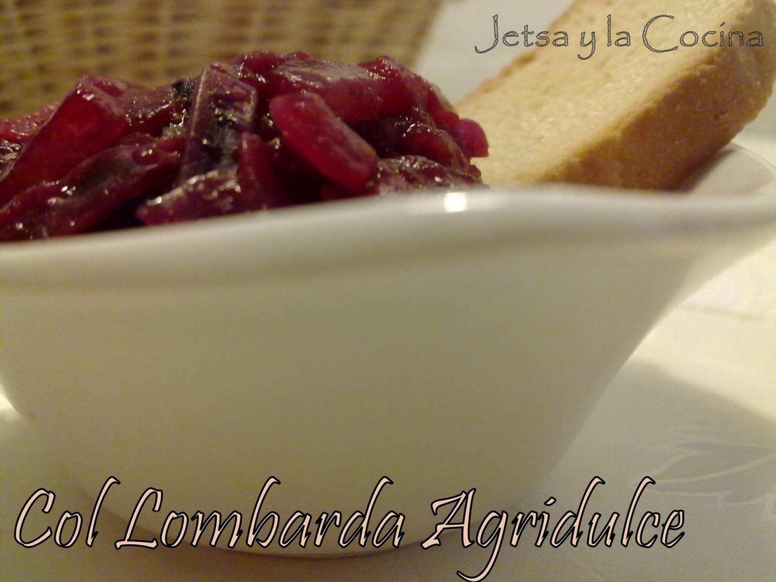 Jetsa y la cocina col lombarda agridulce for Cocinar col lombarda