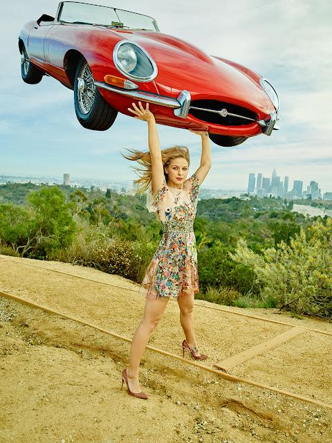 Actress, Singer, @ Melissa Benoist - Shot by Dewey Nicks for Vanity Fair, December 2015