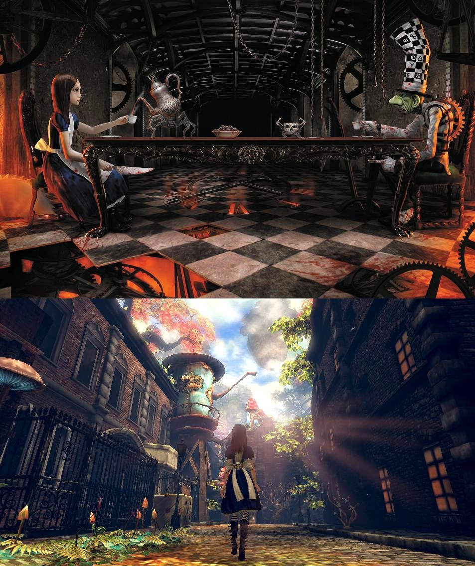 Alice: Madness Returns gameplay