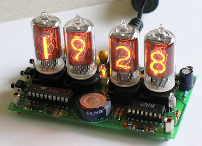 All A 7 Segment Display Is Capable Of An Unattractive Bunch Horizontal And Vertical Lines Anyway Here Ten Year Old Picture My Nixie Clock