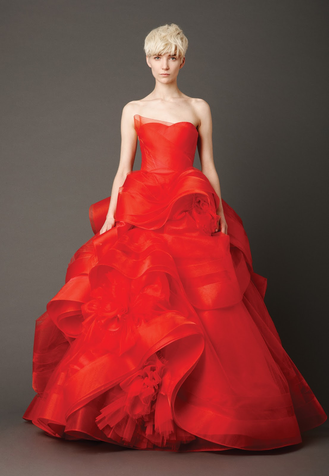Red Wedding Dresses Trends 2014