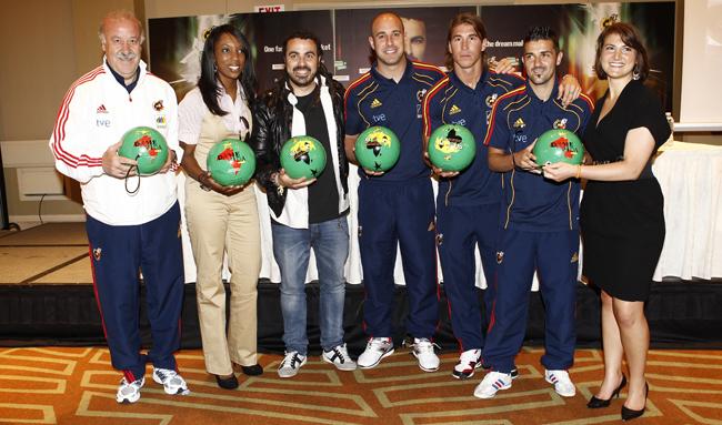 Huecco selección española de fútbol