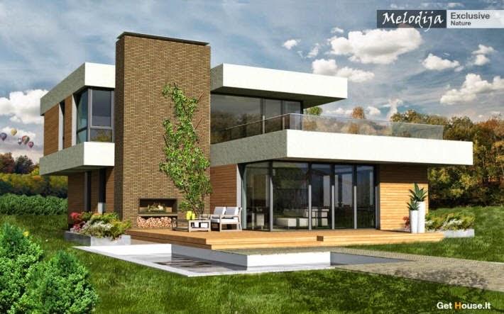Fachadas De Casas Modernas Fachadas De Casas Modernas Urbanas