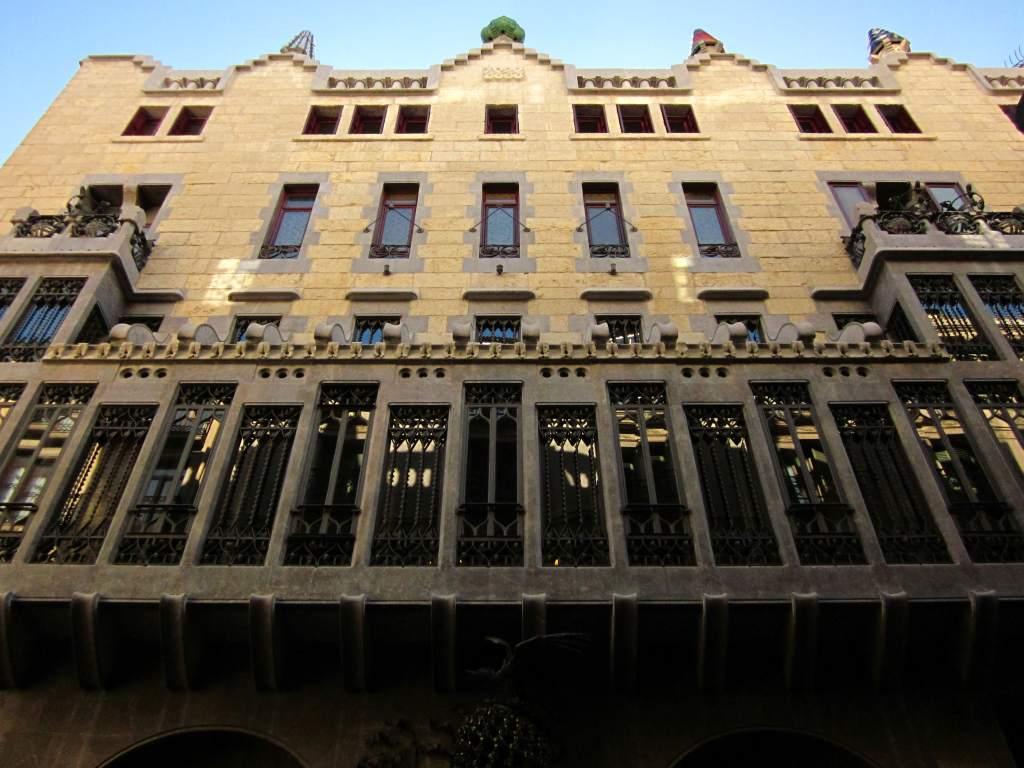 BARCELONA - MODERNISM OF GAUDI: PALAU GÜELL ~ Beautiful places of Barcelona a...