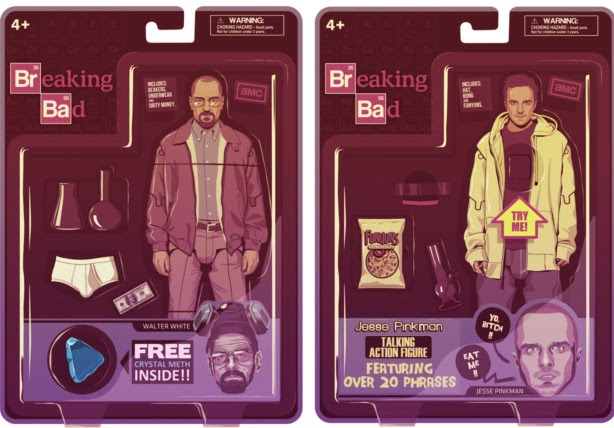Breaking Bad Action Figures by Mike Wrobel