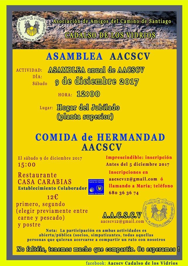 ASAMBLEA Y COMIDA DE HERMANDAD
