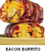 MAKE BACON WEAVE BREAKFAST BURRITO