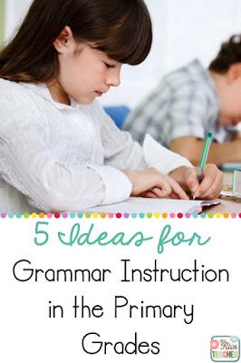 Effective, authentic, and meaningful ideas for teaching young writers about grammar.