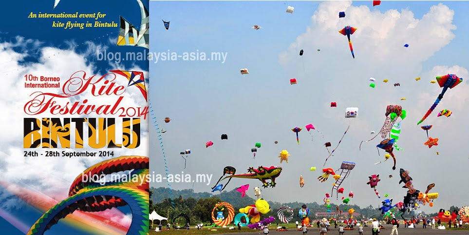 Borneo International Kite Festival 2014