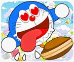Doremon tìm bánh rán, game hoat hinh