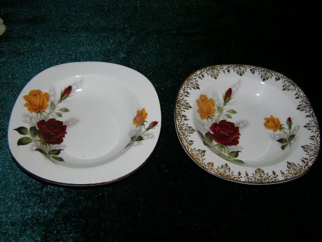 On eBay I found some small pin dishes. I noticed that one of them matched a vase and another small pin dish too by Lancaster u0026 Sandland that I had bought a ... & Just a little something: History through china - cherished pin dishes