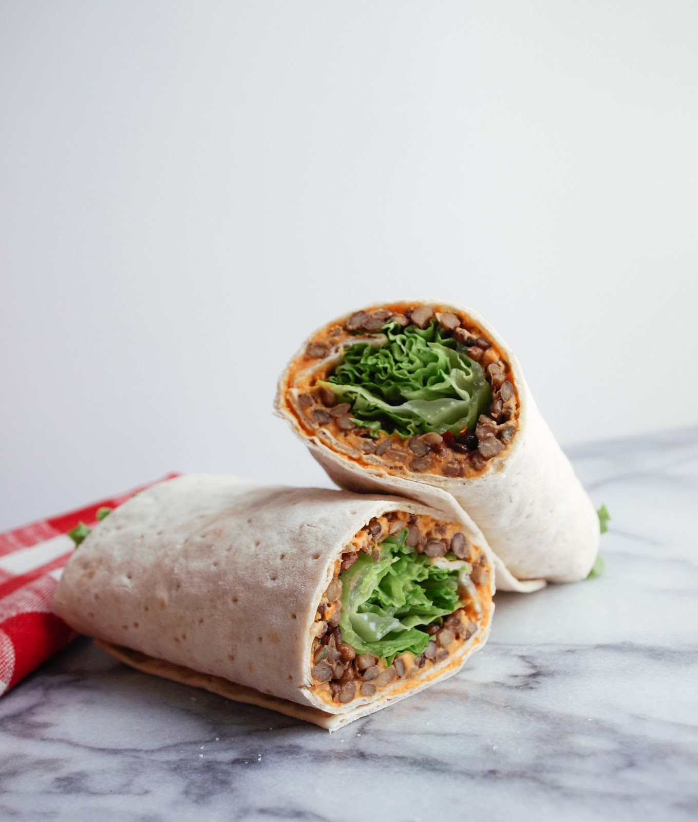 THE SIMPLE VEGANISTA: LENTIL & SUN-DRIED TOMATO HUMMUS WRAP