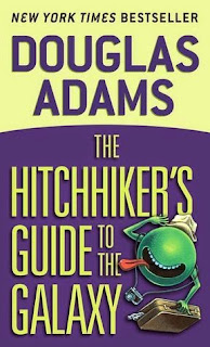 Funny Book for next themed read  Hitchhiker's Guide to the Galaxy