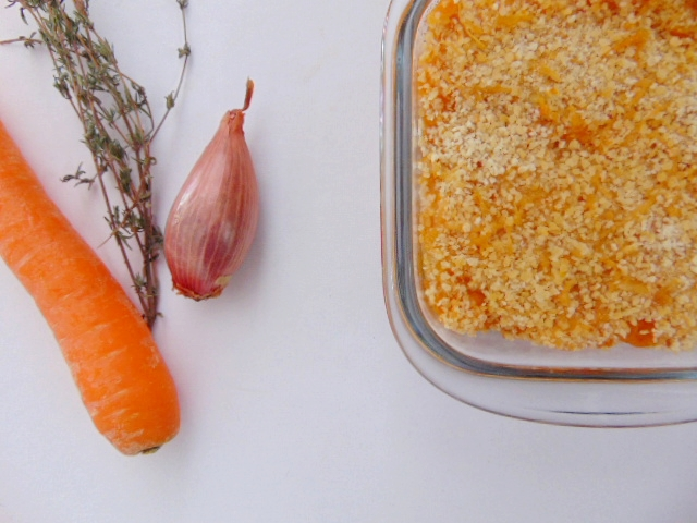 Hachis Parmentier de légumes butternut shepherd's pie