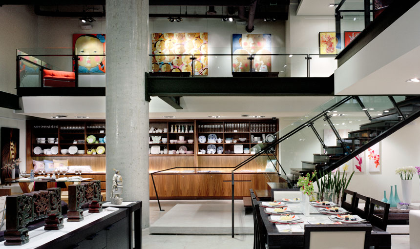 retail interior design alchemy collections seattle heliotrope