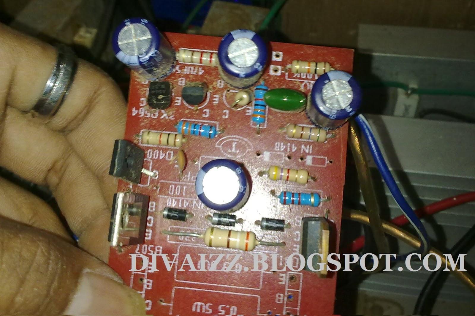 Cara Modif Power Amp OCL Agar Watt,Bass Mantap | DIVAIZZ