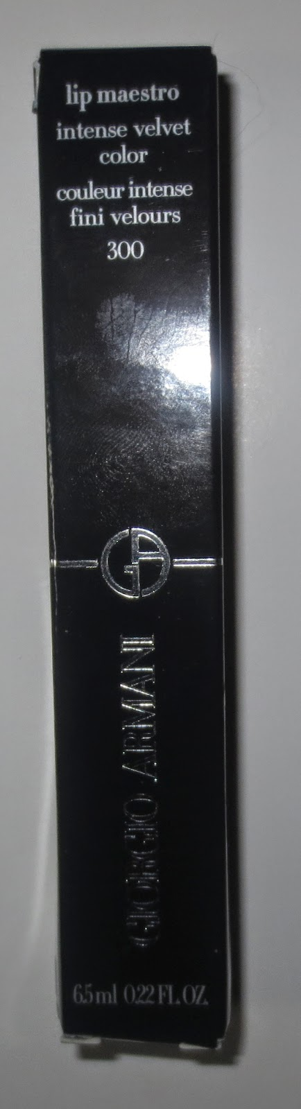 Giorgio Armani Lip Maestro 300 Flesh packaging