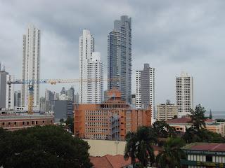 Construções na Cidade do Panamá