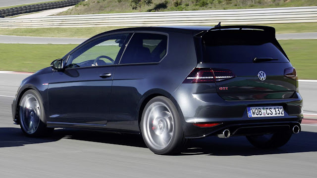 VW Golf GTI ClubSport Cinza