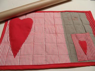 Era sera craft manteles individuales patchwork for Manteles individuales de tela