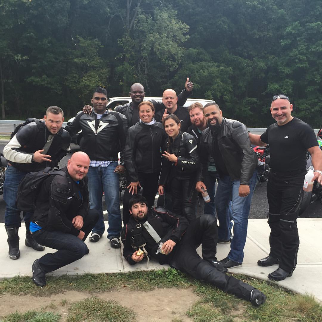 Tigh Loughhead and the East Coast Ducati Riders Social Club out of New York City