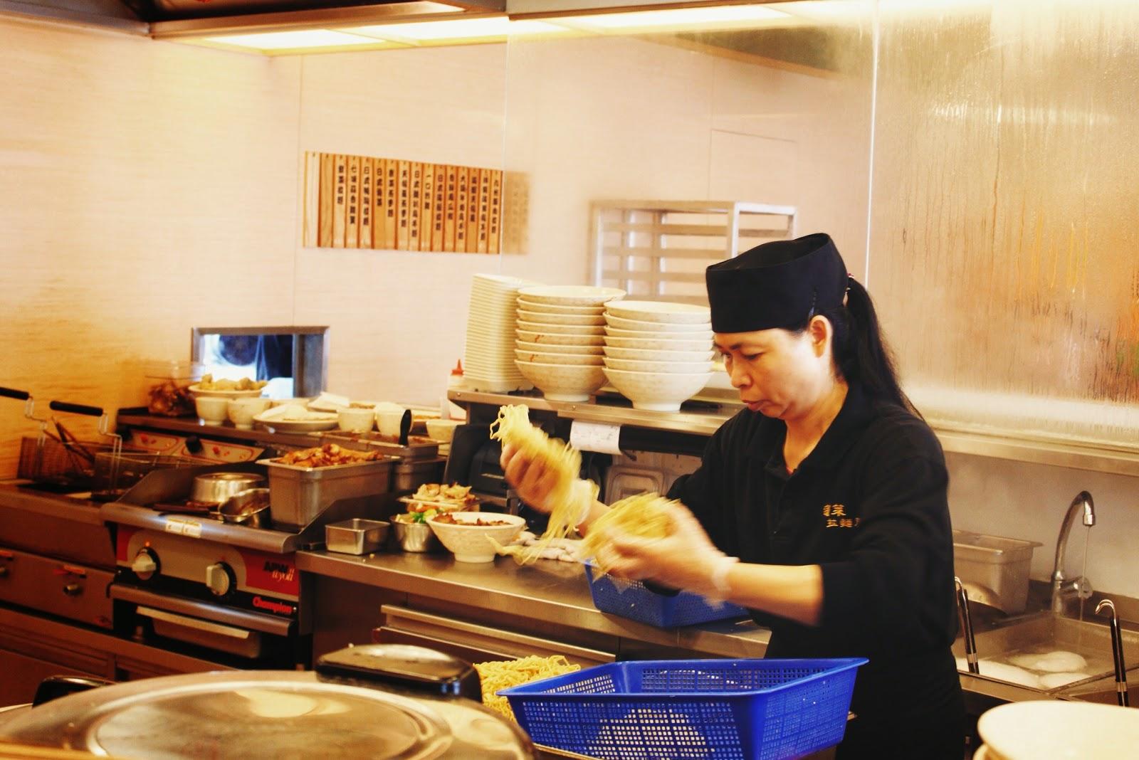蓬萊拉麵屋 Zen Noodle Cafe @ Ngong Ping, Lantau Island, Hong Kong 香港大嶼山昂坪市集