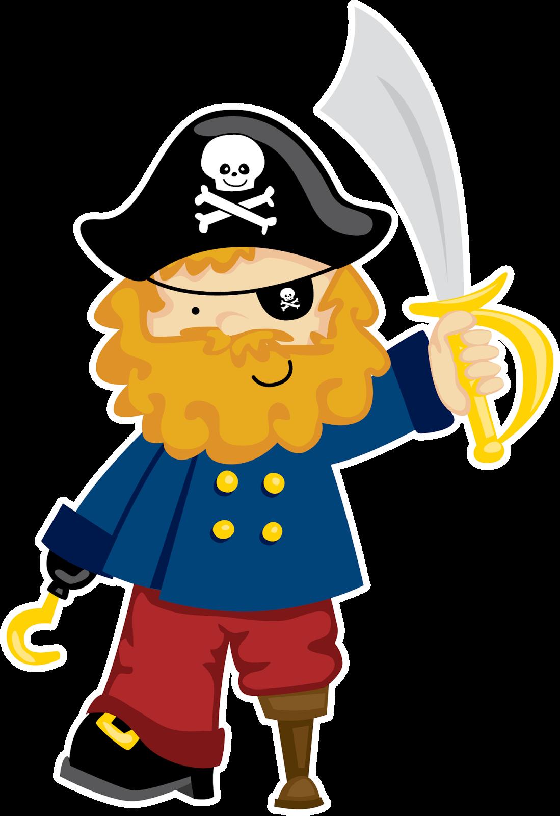 Clipart aventura pirata ideas y material gratis para fiestas y celebraciones oh my fiesta - Piratas infantiles imagenes ...