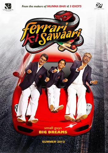 Ferrari Ki Sawaari (2012) Movie Poster