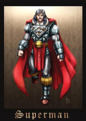 Super-homem medieval