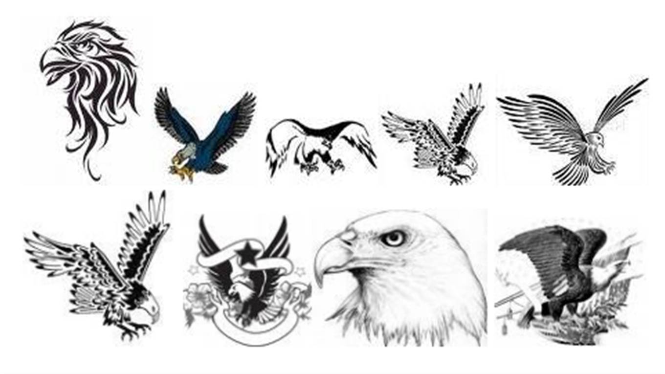Tattoo Simbols Eagle Tattoo Designs