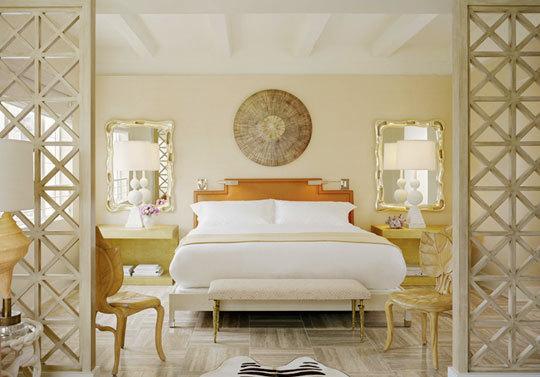 New Modern Comfortamble Bedroom Design gold ديكور مجالس وغرف نوم رهيب جدا 2014