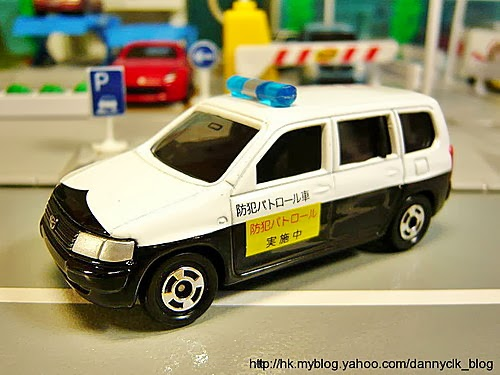 TOMICA No.23 - TOYOTA PROBOX VOLUNTARY SECURITY POLICE CAR ( トヨタ