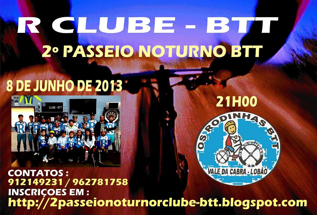 2º PASSEIO NOTURNO R CLUBE BTT