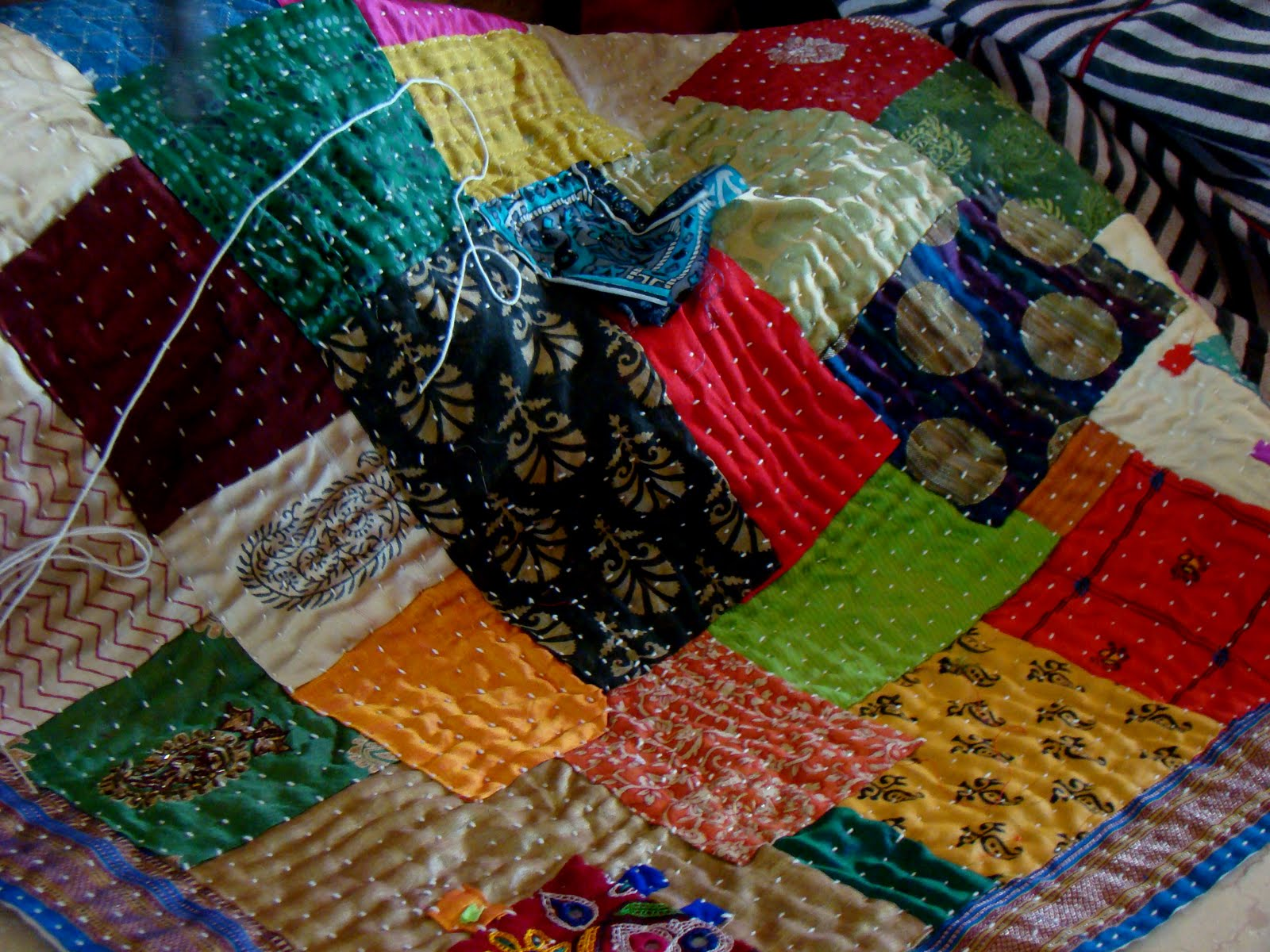 Quilting in India: Making a quilt – the traditional way : quilt india - Adamdwight.com