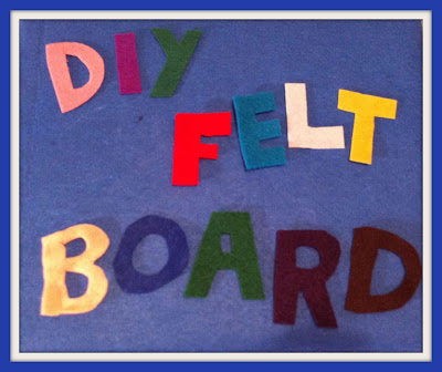 Just For Daisy :: DIY Felt Board Gift Idea