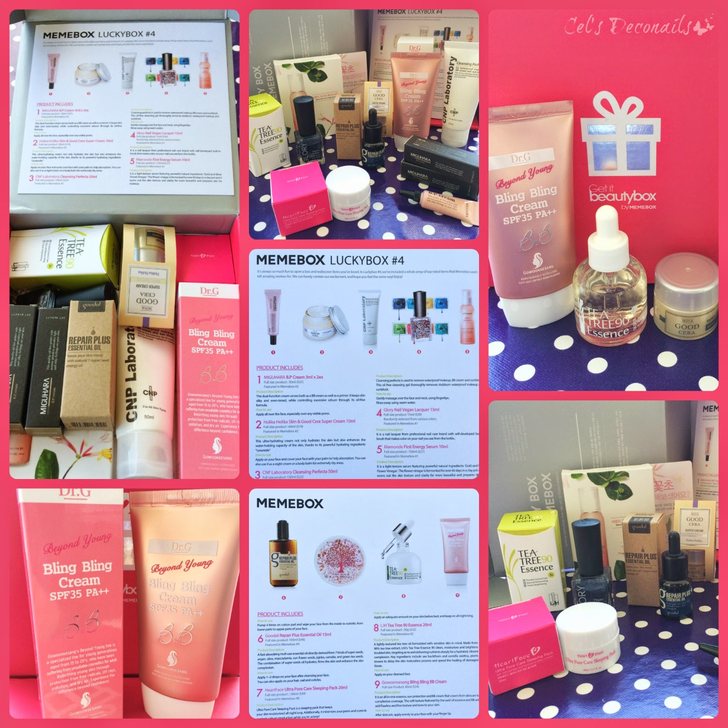 Memebox Luckybox #4 beauty box