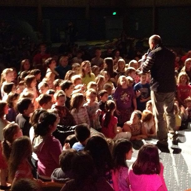 Kids seeking God at Kids Convention 2013